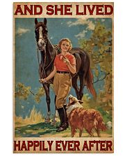 Horse And Girl Live Happily 24x36 Poster front