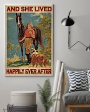 Horse And Girl Live Happily 24x36 Poster lifestyle-poster-1