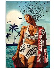 Girl Music And Beach I Am 24x36 Poster front