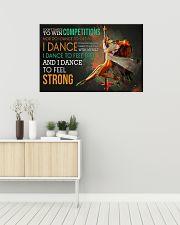 Pole Dancing I Dance 36x24 Poster poster-landscape-36x24-lifestyle-01