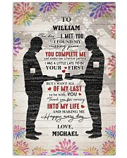 Gay Couple Missing Piece  24x36 Poster front