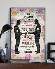 Gay Couple Missing Piece  24x36 Poster lifestyle-poster-2