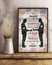 Gay Couple Missing Piece  24x36 Poster lifestyle-poster-3