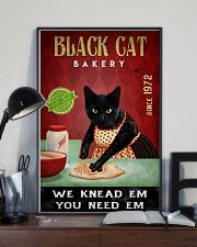 Black Cat Bakery We Knead Them 24x36 Poster lifestyle-poster-2
