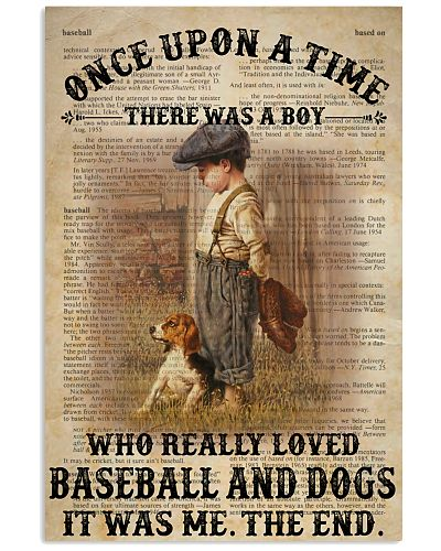 Boy Baseball Dog Dictionary