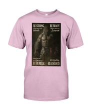 Gorilla Boxing Be Strong Classic T-Shirt tile