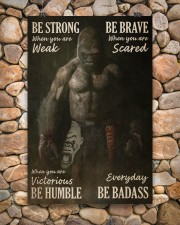Gorilla Boxing Be Strong 24x36 Poster aos-poster-portrait-24x36-lifestyle-15