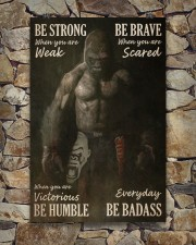 Gorilla Boxing Be Strong 24x36 Poster aos-poster-portrait-24x36-lifestyle-16