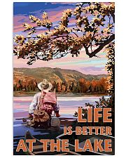 Fishing Life Is Better At The Lake 24x36 Poster front