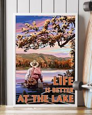 Fishing Life Is Better At The Lake 24x36 Poster lifestyle-poster-4