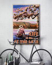 Fishing Life Is Better At The Lake 24x36 Poster lifestyle-poster-7