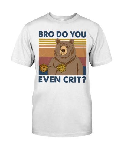 Bro Do You Even Crit