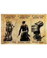 Samurai If They Stand Behind You 36x24 Poster front