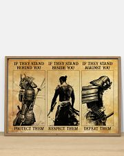 Samurai If They Stand Behind You 36x24 Poster poster-landscape-36x24-lifestyle-03