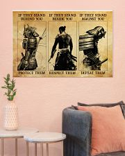 Samurai If They Stand Behind You 36x24 Poster poster-landscape-36x24-lifestyle-18