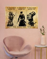 Samurai If They Stand Behind You 36x24 Poster poster-landscape-36x24-lifestyle-19