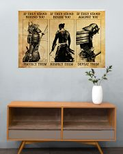 Samurai If They Stand Behind You 36x24 Poster poster-landscape-36x24-lifestyle-21