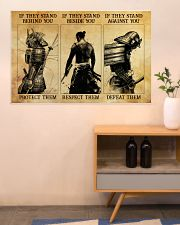 Samurai If They Stand Behind You 36x24 Poster poster-landscape-36x24-lifestyle-22