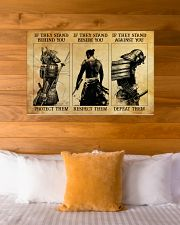 Samurai If They Stand Behind You 36x24 Poster poster-landscape-36x24-lifestyle-23
