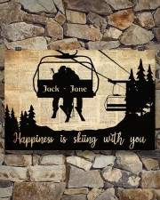 Chairlift Skiing Happiness 36x24 Poster aos-poster-landscape-36x24-lifestyle-15