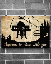 Chairlift Skiing Happiness 36x24 Poster aos-poster-landscape-36x24-lifestyle-17
