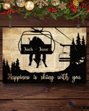 Chairlift Skiing Happiness 36x24 Poster aos-poster-landscape-36x24-lifestyle-24