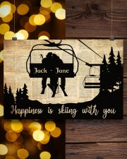 Chairlift Skiing Happiness 36x24 Poster aos-poster-landscape-36x24-lifestyle-26