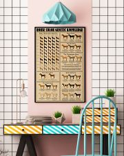 Horse Color Genetic Knowledge 16x24 Poster lifestyle-poster-6