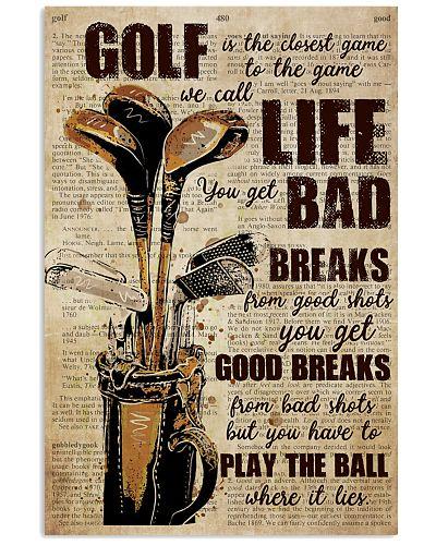 Golf Life Lessons