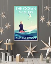 The Ocean Is Calling - Surfing 24x36 Poster lifestyle-holiday-poster-1