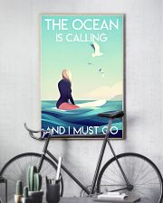 The Ocean Is Calling - Surfing 24x36 Poster lifestyle-poster-7
