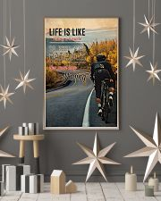 Cycling Life Quote 2 24x36 Poster lifestyle-holiday-poster-1