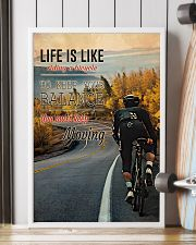 Cycling Life Quote 2 24x36 Poster lifestyle-poster-4
