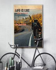 Cycling Life Quote 2 24x36 Poster lifestyle-poster-7