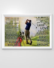 Golf Today Is A Good Day 36x24 Poster poster-landscape-36x24-lifestyle-02