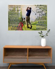 Golf Today Is A Good Day 36x24 Poster poster-landscape-36x24-lifestyle-21