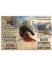 Skiing Today Is Good 36x24 Poster front