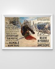 Skiing Today Is Good 36x24 Poster poster-landscape-36x24-lifestyle-02