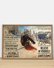 Skiing Today Is Good 36x24 Poster poster-landscape-36x24-lifestyle-03