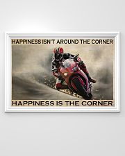 Motor Racing Happiness Is Corner  36x24 Poster poster-landscape-36x24-lifestyle-02