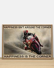 Motor Racing Happiness Is Corner  36x24 Poster poster-landscape-36x24-lifestyle-03