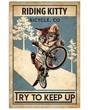 Cat Cycle 24x36 Poster front