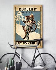 Cat Cycle 24x36 Poster lifestyle-poster-7