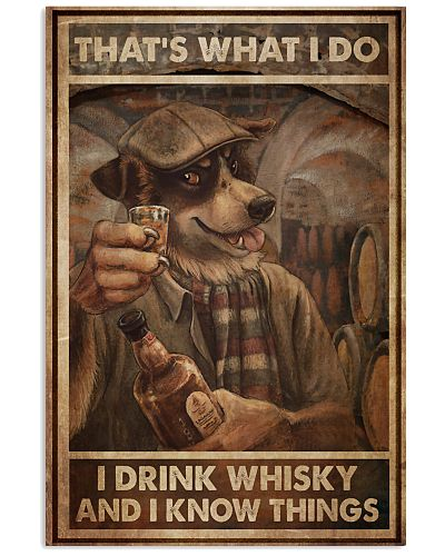 Dog Drink Whisky Know Things