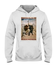 HT We Conquer Ourselves  Hooded Sweatshirt tile