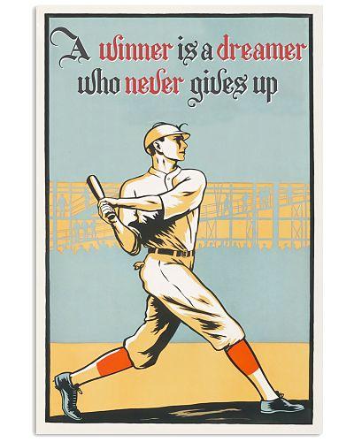 Baseball Winner Vintage