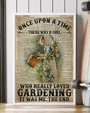 Girl Loved Gardening Once Upon A Time  24x36 Poster lifestyle-poster-4
