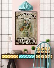 Girl Loved Gardening Once Upon A Time  24x36 Poster lifestyle-poster-6
