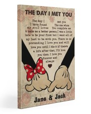 The Day I Met You  20x30 Gallery Wrapped Canvas Prints thumbnail