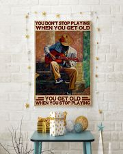 Guitar You Don't Stop 24x36 Poster lifestyle-holiday-poster-3